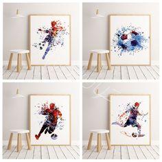 Canvas Home, Canvas Wall Art, Canvas Prints, Sports Football, Salon Art, Nordic Art, Panel Art, Art Pages, Modern Wall Art