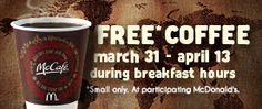 Enjoy~ We enjoyed this special at the McDonald's on Parris Island Gateway. Very nice place.
