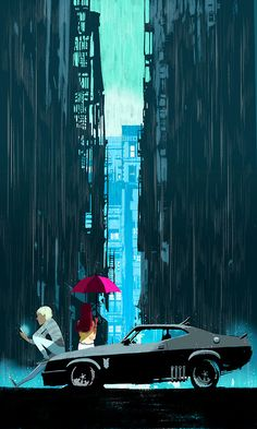 Image by Oriol Vidal - Illustration, Animation from Spain Bd Comics, Anime Comics, Art And Illustration, Illustrations Posters, Lifestyle Illustrations, Bd Art, Retro Pictures, Parasols, Animation