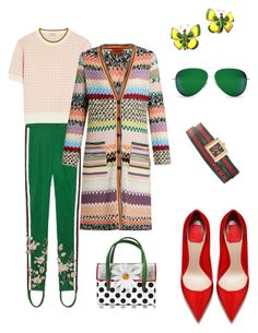 """""""Spring mood"""" by styleociety ❤ liked on Polyvore featuring Gucci, Miu Miu, Missoni, Charlotte Olympia, Chanel and Victoria Beckham"""