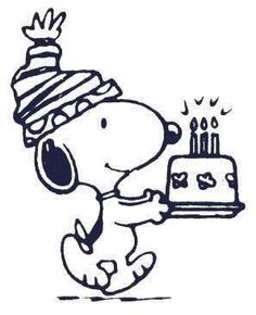 Happy Birthday Clip Art Snoopy
