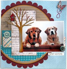 1250 best images about Dog Scrapbooking Dog Scrapbook Layouts, Love Scrapbook, Scrapbook Sketches, Scrapbook Paper Crafts, Scrapbook Albums, Scrapbook Cards, Scrapbooking Ideas, School Scrapbook, Paper Crafting