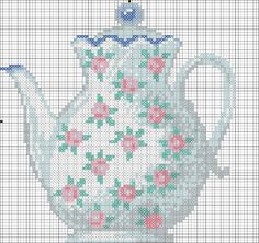 Gallery.ru / Photo # 13 - aaa1 - ergoxeiro---PG 8 OF 8---TEA TIME---can't find color chart
