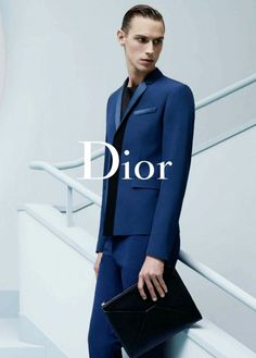 "Pin #2   Lagerfield, Karl. ""AD CAMPAIGN: DIOR HOMME SPRING/SUMMER 2014."" <i>The Poor Homme</i>. Dior Homme, 23 Feb. 2014. Web. 10 Dec. 2015."