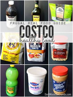 Think you can't afford real food on a budget? This awesome guide will help you to shop real food at Costco on a budget!