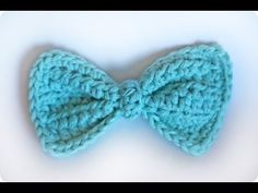 "How to crochet a ""Bowtie!"" (For experienced crocheters.) - YouTube"