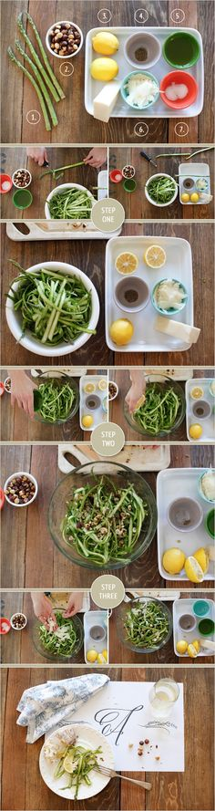 Ribboned Asparagus Salad Recipe