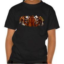 Fantasy Tiger Eyes Wildlife Shirt