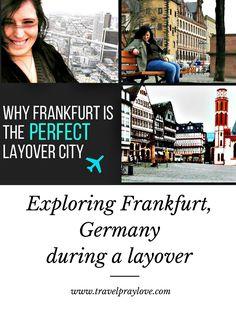 Exploring #Frankfurt, #Germany is a great layover destination...  #travel  #travelblog #travelpraylove