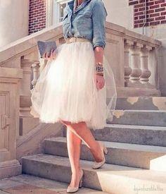 Las faldas de tul                                                                                                                                                                                 Más                                                                                                                                                                                 Más