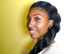 Gorgeous natural hairstyle - keep it simple!