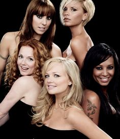 Spice Girls... one of the few things that can bring a smile to my face no matter what!