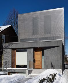 Image 2 of 22 from gallery of Counterpoint House / Paul Raff Studio Architects. Photograph by Steve Tsai Sustainable Architecture, Residential Architecture, Modern Architecture, Interior Design Magazine, Interior Design Inspiration, Best Interior, Modern House Design, Exterior, Studio