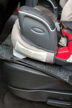 Yoga mat car seat protector