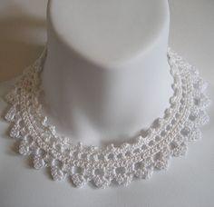 Free+Crochet+Choker+Patterns   Jaybird Designs: February Free Crochet Pattern ~ Heart Slider Choker
