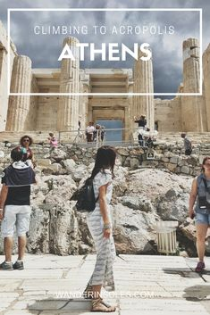 Adoring Athens for the day and it's beautiful ruins.