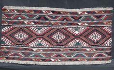 LATE 19th Century,RARE ANTIQUE CAUCASIAN COLORFUL BAG FACE MAFRASH,Caucasian art #Caucasian