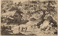 Allart van Everdingen, 'Ruinous Cottage,' probably c. 1645/1656, National Gallery of Art, Washington D.C.