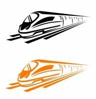 Railroad and subway transport