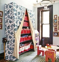 41 Clever Organizational Ideas For Your Childs Playroom