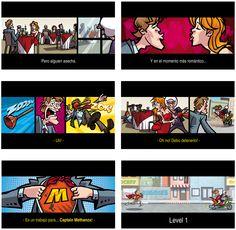 Mobile game for Windows phone  animatics