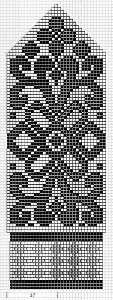Mustrilaegas: Labakinnas fair isle knit chart beautiful More mitten patterns at this site. Knitted Mittens Pattern, Fair Isle Knitting Patterns, Crochet Mittens, Bead Loom Patterns, Crochet Stitches Chart, Knitting Charts, Knitting Stitches, Knitting Socks, Mochila Crochet