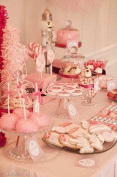 Nola Girl: Pinterest Party: Visions of Sugarplums 1st Birthday Party