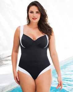 9f5967bb0c352 16 Best Fun in the Sun images | Plus size swimsuits, Plus Size ...
