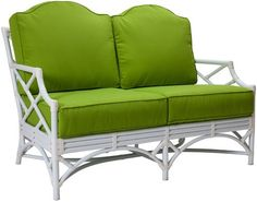 Chippendale Outdoor Loveseat- on the Well Appointed House Blog