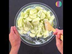 Refrescante y liviana ensalada de pepino