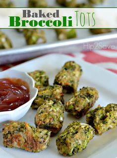 If you're looking for a unique way to enjoy broccoli, check out these yummy and kid-friendly broccoli tots! Serve them as a healthy homemade snack or side dish! You can form them into a &#822…