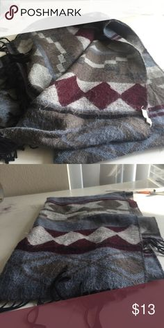 Warm scarf Is around five feet long and 2 feet wide. Originally bought for 25 dollars. Has some piling on it. Not Brandy. Selling on Depop @escea for 12.60 shipped Brandy Melville Accessories Scarves & Wraps