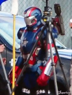 Gotta say, I never would have expected this: Iron Patriot is in Iron Man 3