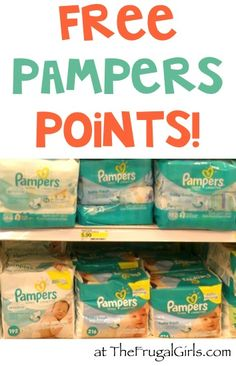 HUGE List of FREE Pampers Rewards Codes! {cash in your points for free rewards!}