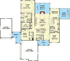 Master on the Main And More - 36026DK | 1st Floor Master Suite, Butler Walk-in Pantry, CAD Available, Den-Office-Library-Study, In-Law Suite, Luxury, Media-Game-Home Theater, PDF, Photo Gallery, Premium Collection, Sloping Lot, Traditional | Architectural Designs