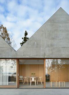 Summerhouse Lagnö by Tham & Videgård Arkitekter. Image via Dezeen.