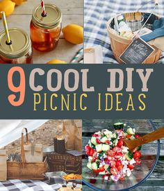 DIY Picnic Food Ideas and Craft Projects