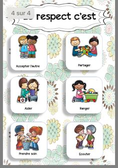 class displays - Comportement - Welcome Home French Worksheets, Autism Education, Class Displays, French Education, French Expressions, French Classroom, Teaching French, French Teaching Resources, Learn French