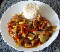Kuřecí se zeleninou a omáčkou jako z čínské restaurace   Mimibazar.cz Tofu, Food And Drink, Cooking Recipes, Beef, Treats, Chicken, Breakfast, Food Ideas, Diet
