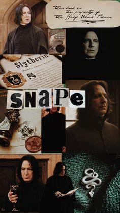 Soft Wallpaper, Endless Love, Alan Rickman, Severus Snape, Half Blood, Prince, Poster, Art, Harry Potter Books
