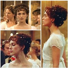 Love this Pride and Prejudice hairstyle