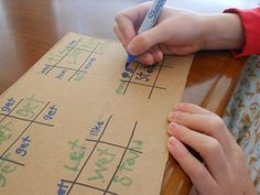 Sight words and spelling words can be a boring chore.... of course using a modified version of Tic Tac Toe will change that!