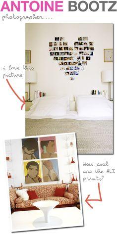 love the photos shaped into a heart @Studio Calico