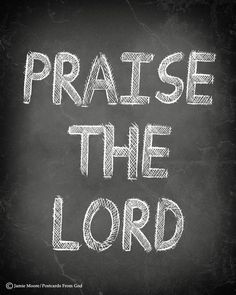 Praise to the Lord, the Almighty, the King of creation! O my soul, praise Him, for He is thy health and salvation! All ye who hear, now to His temple draw near; Praise Him in glad adoration.  Praise to the Lord, O let all that is in me adore Him! All that hath life and breath, come now with praises before Him. Let the Amen sound from His people again, Gladly for aye we adore Him. (Joachim Neander, 1680) https://www.facebook.com/PostcardsFromGod/