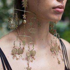 Mobile earrings for @kalmar_official ss17 #kalmar #sianevansjewellery