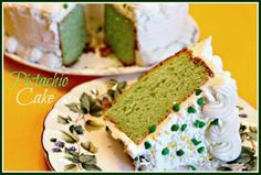 Sweet Tea and Cornbread: Pistachio Cake!