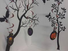 Espirales de Halloween, otra opción para la decoración de tu fiesta. #Halloween2013 #DecoraciónHalloween