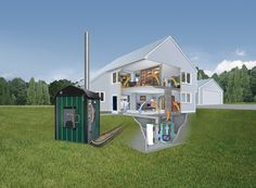 Cleaning Up Outdoor Wood-Burning Furnaces