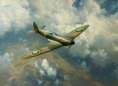 The First for the Few by Frank Wootton.  Date painted: 1980.