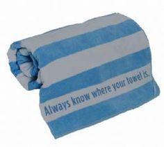 Douglas Adams Towel